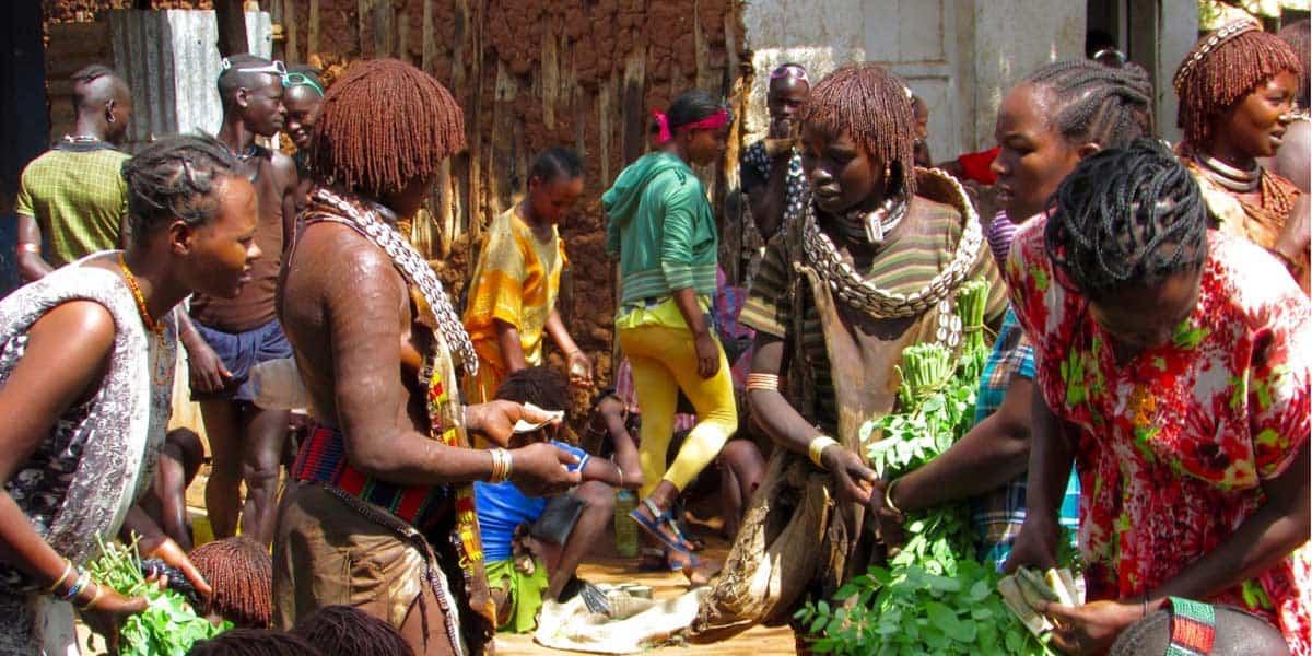 Image result for hamer local market ethiopia